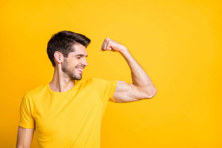 fastest way to get big arms